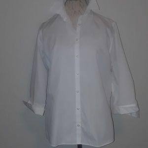 Lands End reg.size 14 dress shirt